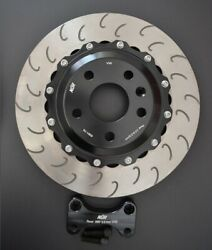 Audi Rs3 8p/8v Rear 355 Brake Discs Upgrade Nanduumlr 2-piece Slotted Bolted Floating