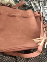 Unbranded Women Pink Bucket Bag One Size $28.00