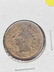 7 The Key Date 1877 Indian Head Cent Penny Brown Rare Us Coin