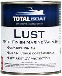 Lust Marine Varnish High Gloss And Matte Finish For Wood Boats Outdoor Furniture