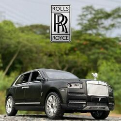 132 Rolls Royce Cullinan Car Alloy Metal Collection Model Children Gifts Toys