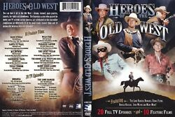 Heroes Of The Old West Dvd 2011 4-disc Set Missing Disc 4