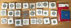 Lot Of 131 World Silver Coins No U.s., Plus 4 Coin Sets And 2 Commemoratives