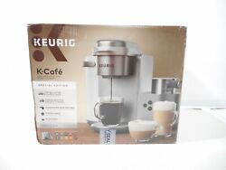 Keurig K-cafe Special Edition Coffee K84 Latte And Cappuccino Maker Silver
