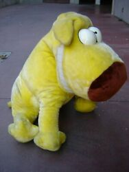 Grimmy 24k Mother Goose And Grimm Vintage 80s Plush Big Puppy
