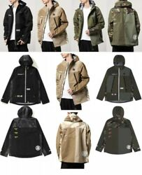 Aape By A Bathing Ape Menand039s Light Weight Hoodie Style Jacket Fast Shipping Japan