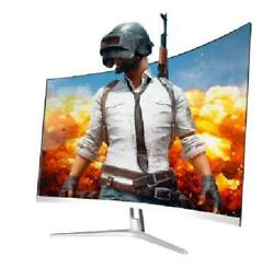 27 Inch Game Competition Curved Widescreen Ips/led 24 Gaming Monitor 75hz Hdmi/