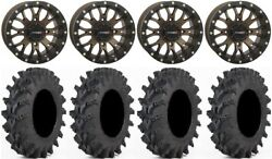 System 3 St-3 Bronze 14 Wheels 30 Outback Max Tires Yamaha Grizzly Rhino