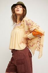 Free People Waiting On A Sunny Day Top Nwt