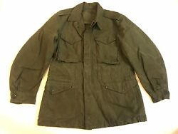 Vintage 1950s Us Army M-1951 M-51 Field Jacket Small Long