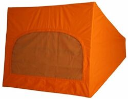 German Quality Early Bay Roof Canvas 1 Window In Orange 1968-1974 C81781o