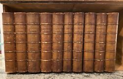 Works Of Henry Fielding Set Of 10 1882 Numbered 311. From Personal Library.