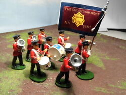 Trophy Miniatures Salvation Army Band 9 Piece