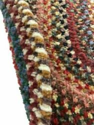 Capel Rugs Eaton Wool Soft Chenille Braided Country Oval Rug Multicolor 900