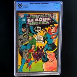 Justice League Of America 66 Dc 1968 💥 Cbcs 9.6 White Pg 💥 Neal Adams Comic