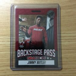 Jimmy Butler 2020-21 Panini Nba Hoops Backstage Pass Miami Heat All Access Ssp