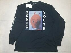 Nwt Sonic Youth Dirty Vintage Reprint Cover Longsleeve T-shirt Xl 2x Sided