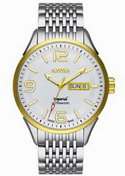 Roamer Royal Series Automatic Stainless Steel Menand039s Watch 101637 47 14 10