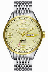 Roamer Royal Series Automatic Stainless Steel Menand039s Watch 101637 47 34