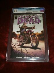 Walking Dead 15 Cgc 9.8 White Pages Death Of Chris, Rachel And Suzie Key Issue