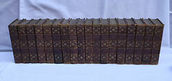 Magnificent 18 Volumes Of 19th Century English Books By British Poets And Writers