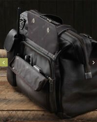 Lightspeed Aviation Flight Leather Bag The Gannnew And Authentic