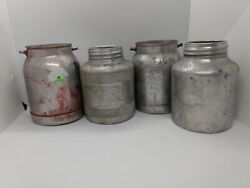 Spray Paint Sprayers Gun Canister Cans - Used Condition Lot Of 4