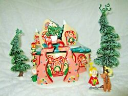 Dept 56 How Cindy Lou Whoand039s House Artist Sample Rare