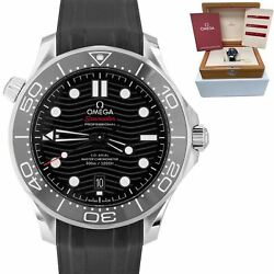 Omega Seamaster 300 Co-axial 42mm Automatic Ss Black Watch 210.32.42.20.01.001
