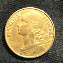 20 Centimes Coin -  France - 1963