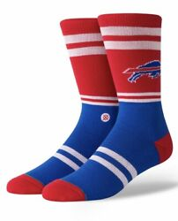 Stance Nfl Buffalo Bills Logo Crew Socks Men's Size Large 9-12 New With Tags