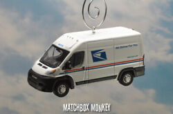 Ram Promaster Usps United Postal Service Delivery Truck Christmas Tree Ornament