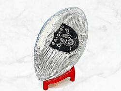 Full Size Crystallized Football Oakland Raiders W/ Genuine Crystals Bling Nfl