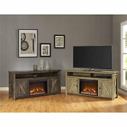 Ameriwood Home Farmington Electric Fireplace Tv Console For Tvs Up To 60,rustic