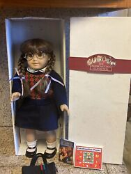 1991-92 American Girl Molly Doll And Book White Box Pleasant Co