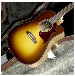 Gibson Songwriter Modern Ec Walnut Burst Electric Acoustic Guitar With Hard Case