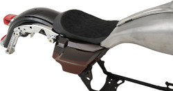 Drag Specialties Ez On Solo Seat For Ness Winged Gas Tank 0801-1068