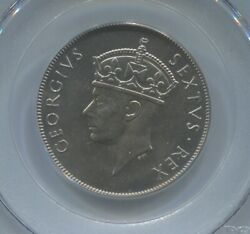 East Africa Shilling 1949h Pcgs Sp65 Ex Diana Collection