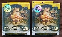 2x Dreamblade Starter Sets Factory Sealed Free Shipping Very Rare Oop