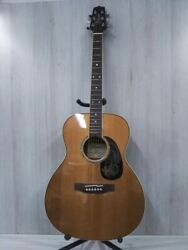 Rare Takamine Km-15 6 String Natural Acoustic Guitar With Case Japan Shipped