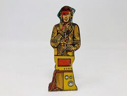 Marx Soldiers Of Fortune Tin Litho Radio Operator 25