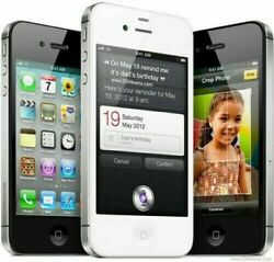 Apple Iphone 4s 8gb/ 16gb /32gb /64gb Factory Unlocked Compatible Atandt /t Mobile