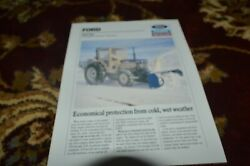 Ford Tractor Soft Cab Brochure Fcca