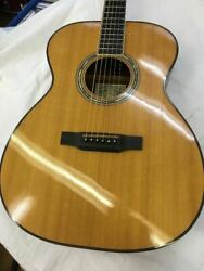 Rare Jean Larrivee Om-05 Natural 6 String Acoustic Guitar Shipped From Japan