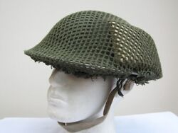 An Outstanding Conditioned Early Wwii British Field Service Helmet 1939.
