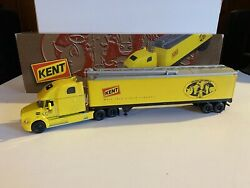 First Gear 1/54 Scale Mack Vision Tractor Truck Kent Feeds Grain Trailer W/box