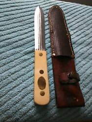 Ww2 Dagger Knife Theatre ✋ Made Very Wellultra Sharp And Unique With Sheath