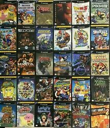 Gamecube Authentic Games Q - Z Nintendo Gamecube Cleaned And Tested