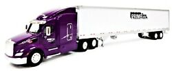 Ho Scale Trucks N Stuff 117 Peterbilt 579 Sleeper W/prime 53and039 Reefer Trailer