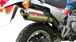 Honda Nx650 Dominator Exhaust Trioval 2in1 Full System By Gpr Italy 1988/01